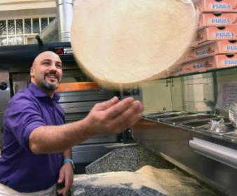 Gastrotipp: Hier fliegt die leichte Pizza ohne Hefe